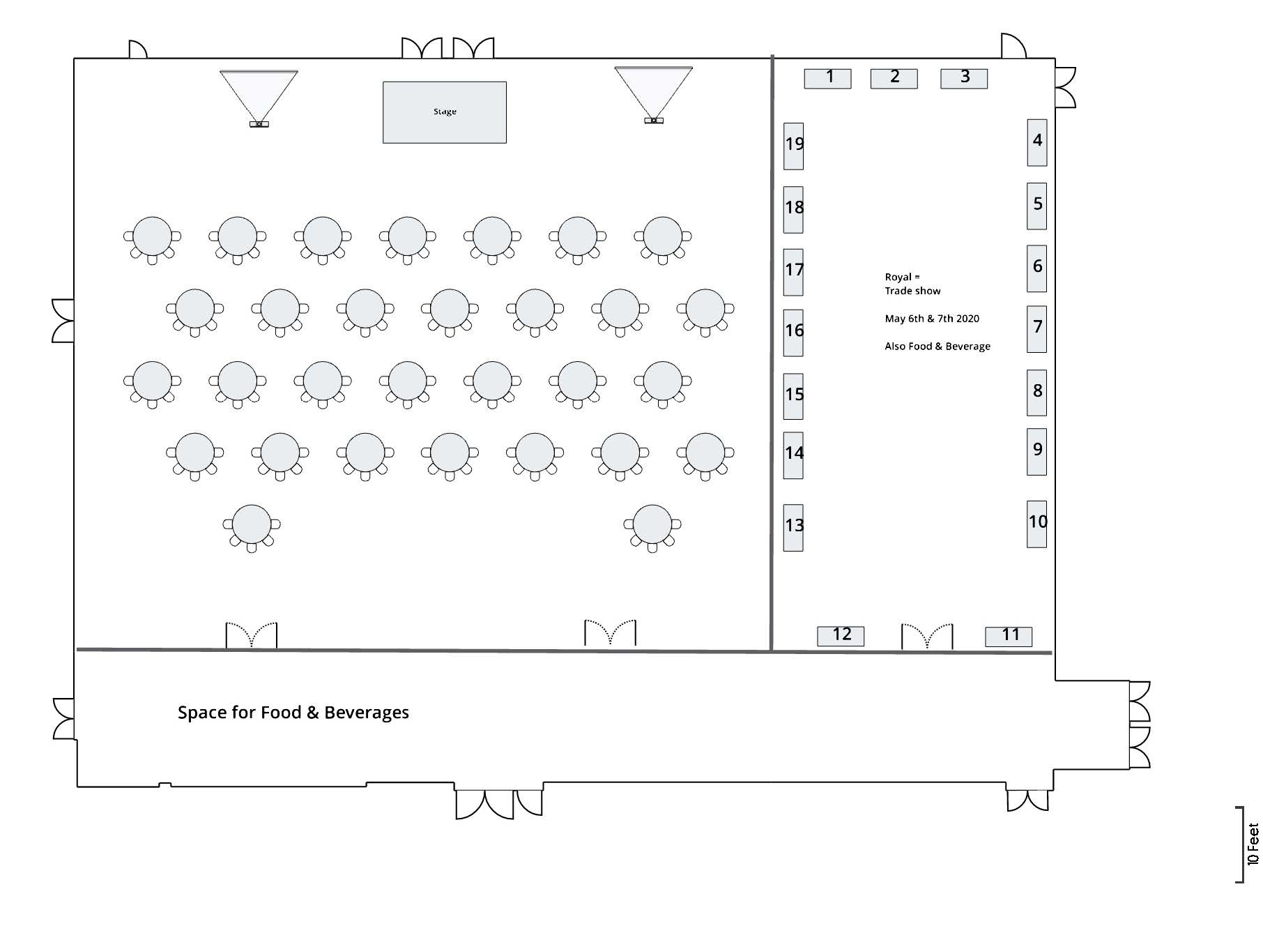 ACCPA 2020 – Updated V2 Room Diagram